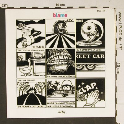 Belle Stars: The Clapping Song, Stiff(Buy 155), UK, 1982 - 7inch - T982 - 2,00 Euro