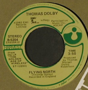 Dolby,Thomas: She Blinded Me With Science, FLC, Harvest(B-5204), US, 1982 - 7inch - T988 - 3,00 Euro