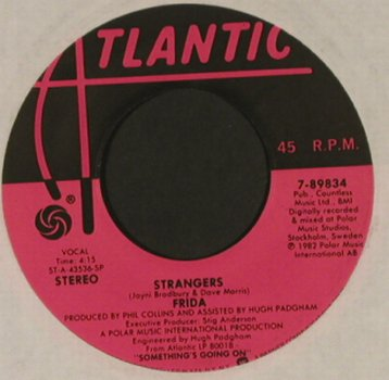 Frida (Abba): Here We'll Stay/Strangers, FLC, Atlantic(7-89834), US, 1982 - 7inch - T993 - 3,00 Euro