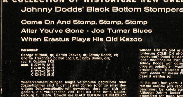 Dodds,Johnny/Black Bottom Stompers: Pioneers of Jazz  4, Coral(94 204 EPC), D,  - EP - T4210 - 5,00 Euro