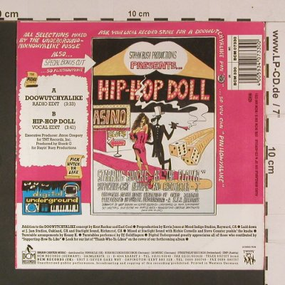 Digital Underground: Doowutchyalike / Hip Hop Doll, BCM Rec(), D,  - 7inch - S8006 - 5,00 Euro
