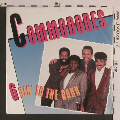 Commodores: Goin'To The Bank / Serious Love, Polydor(885 377-7), D, 1986 - 7inch - S8263 - 2,50 Euro