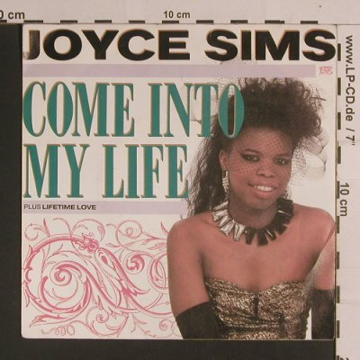 Sims,Joyce: Come Into My Life / Lifetime Love, London(6.15037 AC), D, 1988 - 7inch - S8299 - 3,00 Euro