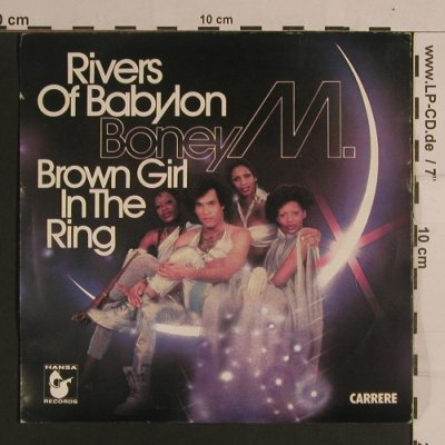 Boney M.: Rivers Of Babylon/Brown Girl In The, Carrere/Hansa(49 359), F, 1978 - 7inch - S8318 - 3,00 Euro