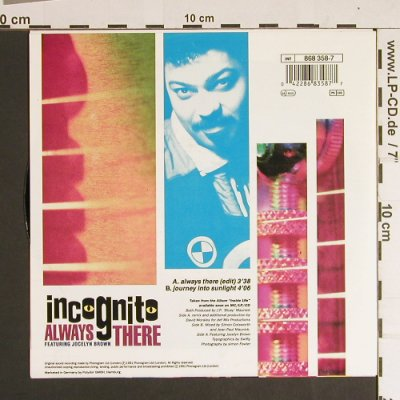Incognito: Always There, TalkinLoud(868 358-7), D, 1991 - 7inch - S8616 - 3,00 Euro