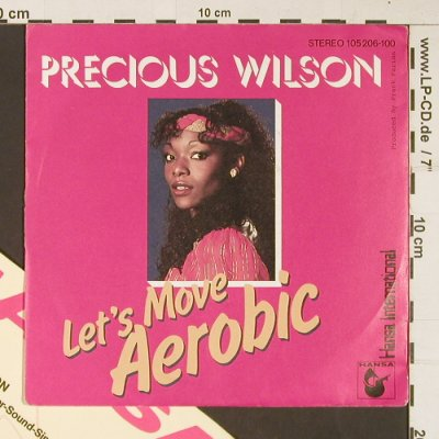 Wilson,Precious / The Farian Orch.: Let's Move Aerobic/Concerto for Med, Hansa,Facts(105 206-100), D,vg+/vg+, 1983 - 7inch - S8979 - 3,00 Euro