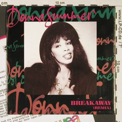 Summer,Donna: Breakaway (Remix)/Love is in contro, WB(9031-73308-7), D, 1991 - 7inch - S9151 - 3,00 Euro