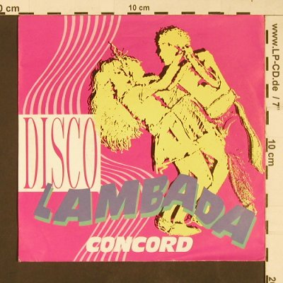 Concord: Disco Lambada / Fly to Brasil, BCM(07346), D,  - 7inch - S9175 - 2,50 Euro