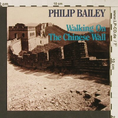 Bailey,Philip: Walking On The Chinese Wall/Childre, CBS(A 6079), NL, 1985 - 7inch - S9248 - 2,00 Euro