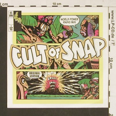 Snap: Cult Of Snap, Logic(113 596), D, 1990 - 7inch - S9841 - 2,50 Euro