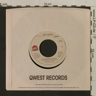 Austin,Patti: It's Gonna Be Special/Solero, Quest(7-29373), US, FLC, 1983 - 7inch - T2552 - 2,00 Euro