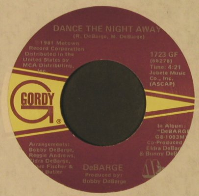 DeBarge: Love Me In A Special Way, LC, Gordy(1723 GF), US, 1983 - 7inch - T2562 - 2,00 Euro
