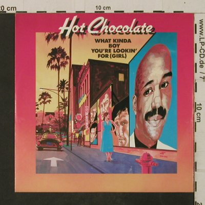 Hot Chocolate: What Kind Of Boy You're Lookin' For, RAK(008-65 110), D, 1983 - 7inch - T2617 - 2,50 Euro