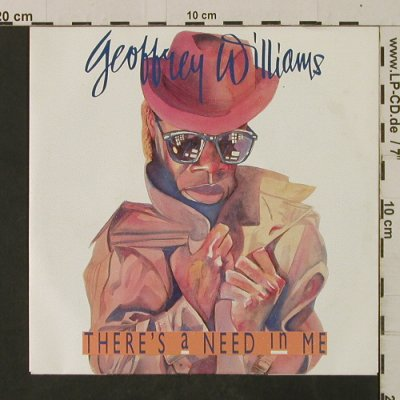 Williams,Geoffrey: There's A Need In Me / Shadows, Polydor(887 313-7), D, 1988 - 7inch - T2618 - 1,50 Euro