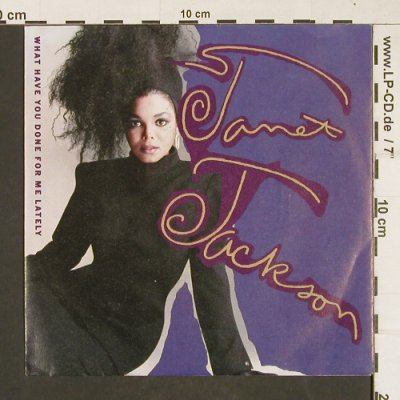 Jackson,Janet: What Have You Done For Me Lately, A&M(390 079-7), D, 1986 - 7inch - T269 - 3,00 Euro