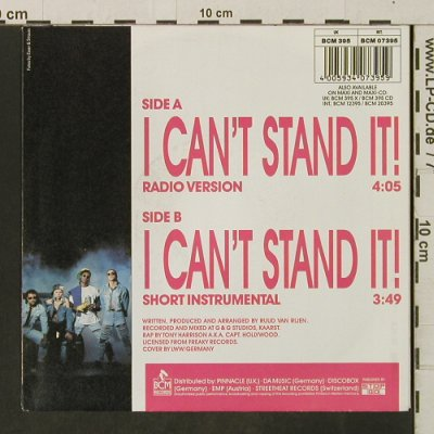 Twenty 4 Seven: I Can't Stand It / Inst., BCM(07395), D,  - 7inch - T3283 - 2,50 Euro