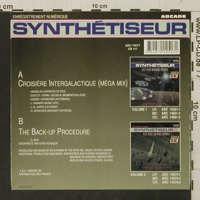 Star Voyager: Croisiere Intergalactique, Synthetiseur(ARC 14517), NL, 1989 - 7inch - T3284 - 2,50 Euro