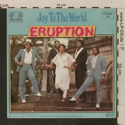Eruption: Joy To The World/Time, Jupiter(6.13563 AC), D,  - 7inch - T3487 - 2,50 Euro