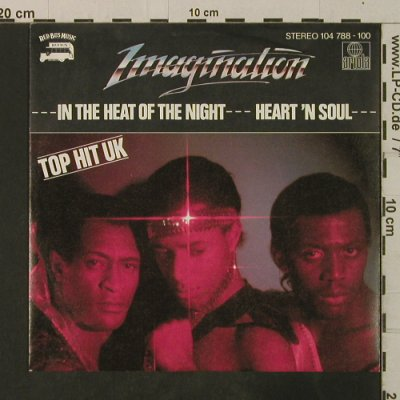 Imagination: In The Heat Of The Night/Herat'n'So, Ariola(104 788-100), D, 1982 - 7inch - T3604 - 2,50 Euro