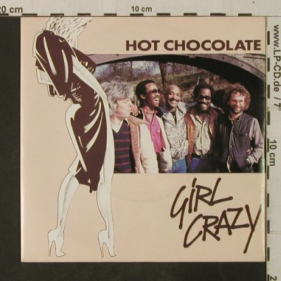 Hot Chocolate: Girl Crazy/Bed Games, RAK(008-64 760), D, 1982 - 7inch - T3627 - 2,50 Euro