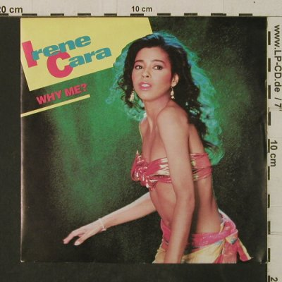 Cara,Irene: Why Me? / Talk Too Much, Epic(A-3794), NL, 1983 - 7inch - T3649 - 2,00 Euro