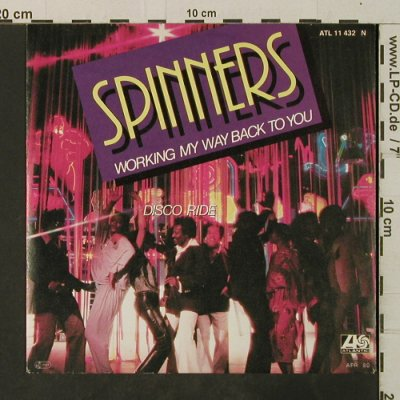 Spinners: Working My Way Back To You/Disco Ri, Atlantic(11 432 N), D, 1979 - 7inch - T3726 - 2,00 Euro