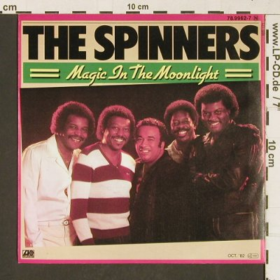 Spinners: Magic In The Moonlight, Atlantic(78.9962-7), D, 1982 - 7inch - T375 - 3,00 Euro