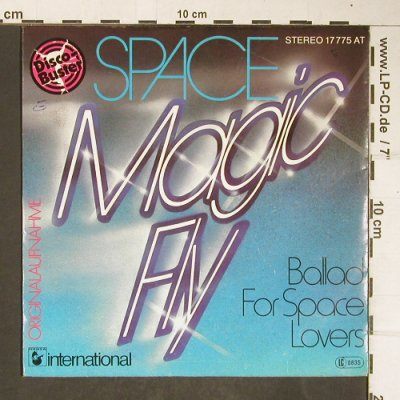 Space: Magic Fly / Ballad for Space Lovers, Hansa(17 775 AT), D, 1977 - 7inch - T4187 - 2,50 Euro