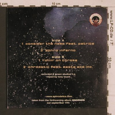 Aphrodelics: excerpts fr.Enormis NY Mix Tape Ses, Tony Touch/BMG(), 4 Tr.,  - 7inch - T4605 - 3,00 Euro