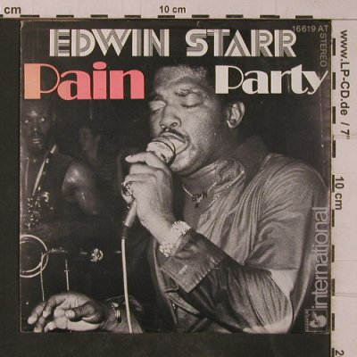 Starr,Edwin: Pain / Party, Hansa(16 619 AT), D, 1975 - 7inch - T4763 - 4,00 Euro