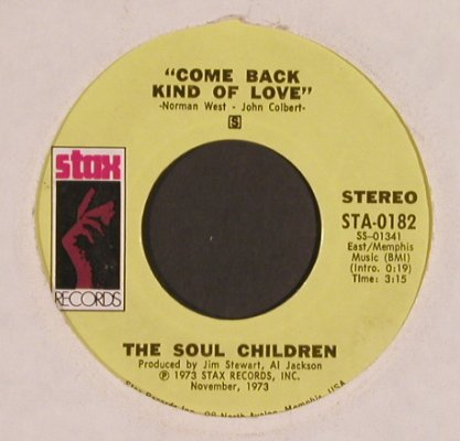 Soul Children: I'll be the other woman, vg+/LC, Stax,Promo-Stol(STA-0182), US, 1973 - 7inch - T4902 - 5,00 Euro