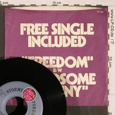 Havens,Richie: Freedom/Handsome Johnny, m-/vg+, Stormy Forest(ST-666), US,toc,  - 7inch - T5101 - 3,00 Euro