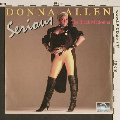 Allen,Donna: Serious / Bad Love, Top Seller(TSR 10.05.01.01), ,  - 7inch - T513 - 2,50 Euro