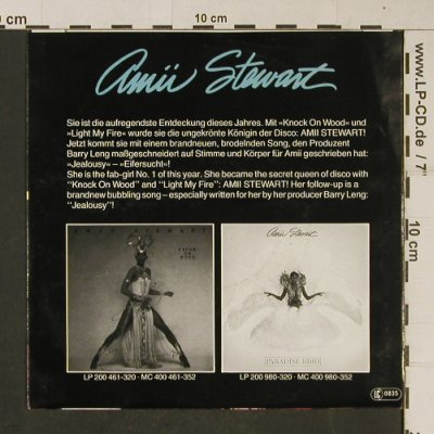Stewart,Amii: Jealousy / Step into the Love Line, Hansa(101 024-100), D, 1979 - 7inch - T640 - 2,50 Euro