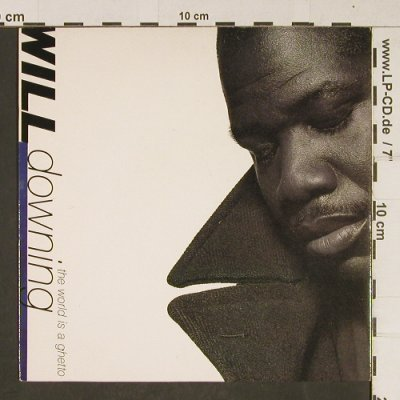 Downing,Will: The World is a Ghetto, 4th bWay(BWR 211), UK, 1991 - 7inch - T655 - 2,50 Euro