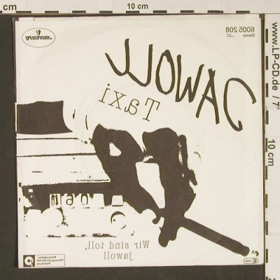 Jawoll: Taxi / Wir Sind Toll,Jawoll, Mercury(6005 208), D, 1982 - 7inch - S9130 - 3,00 Euro