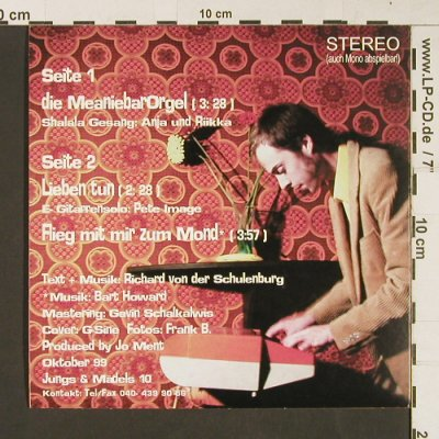 Top Banana Richard: Die Meanie Bar Orgel/Lieben tun+1, J&M 10(), CFSR,  - EP - S9250 - 3,00 Euro