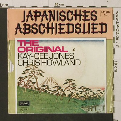 Jones,Kay-Cee - Chris Howland: Japanisches Abschiedslied, m-/vg+, London(6.11289 AC), D, 1976 - 7inch - T1411 - 2,50 Euro