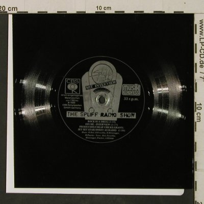 Spliff Radio Show: Rock Is A Drug + Interview, LC, CBS(), D, 1980 - Flexi - T2620 - 4,00 Euro