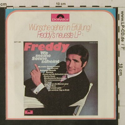 Freddy: St. Helena / Fahrt ins Abenteuer, Polydor(2041 381), D, 1971 - 7inch - T3349 - 4,00 Euro