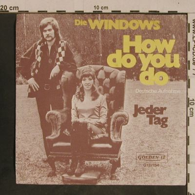 Windows: How Do You Do-deutsche Version, Golden 12(G12/154), D, 1972 - 7inch - T4341 - 3,00 Euro