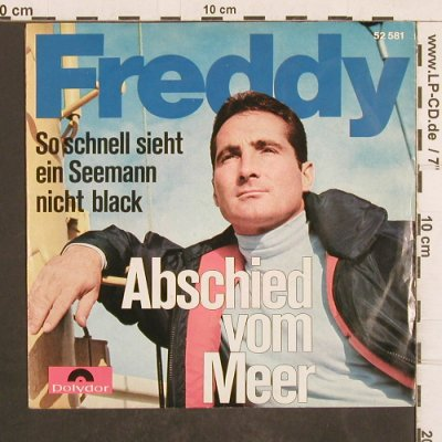 Freddy Quinn: Abschied vom Meer, vg+/m-, Polydor(52 581), D, Mono, 1965 - 7inch - T4969 - 3,00 Euro