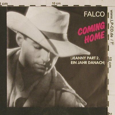Falco: Coming Home(Jeanny Part 2), Teldec(6.14710 AC), D, 1986 - 7inch - T613 - 2,50 Euro