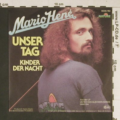 Hené,Mario: Unser Tag, Nature(0030.162), D, 1979 - 7inch - T919 - 2,00 Euro
