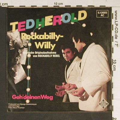 Herold,Ted: Rockabilly-Willy, vg+/m-, Teldec(6.12685 AC), D, 1980 - 7inch - T924 - 1,50 Euro