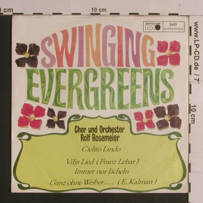 Rosemeier,Rolf  Chor und Orchester: Swinging Evergreens, woc, Metronome(M 25.010 / 3401), D, 1973 - EP - S7929 - 4,00 Euro