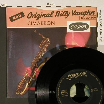 Vaughn,Billy: You're my Baby Doll/Cimarron, London(DL 20 200), D,  - 7inch - S9795 - 2,50 Euro