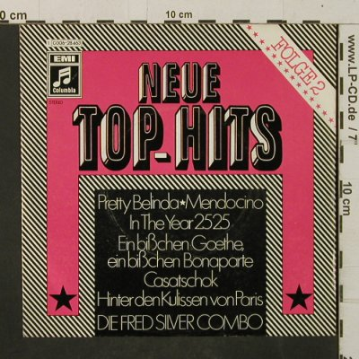 Silver Combo,Fred: Neue Top-Hits, Folge 2, Columbia(C 006-28 463), D,  - 7inch - T2964 - 3,00 Euro