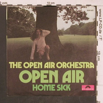 Open Air Orchestra: Open Air / Home Sick, Polydor(2041 621), D, 1975 - 7inch - T5115 - 2,50 Euro