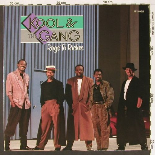 Kool & The Gang: Rags To Riches*4, Metron.(870 572-1), D, 88 - 12inch - A2285 - 2,50 Euro